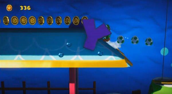 おさかないっぱい 水の中オモテ:9か所目の赤コイン