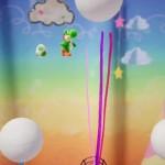 【ヨッシークラフトワールド】お空の上のふわふわボールオモテ
