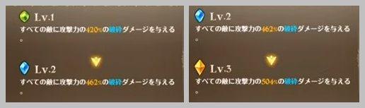配布キング(コインキング)の必殺技Lv1~3の威力変化について